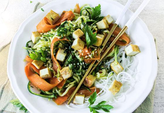 recette de mon pad thaï végétarien facile à faire