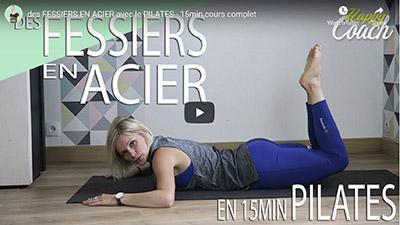 Happy Coach by Aurélie_15 minutes de Pilates en vidéo pour les fessiers