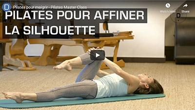 Doctissimo Youtube_Cours vidéo de Pilates pour maigrir et affiner la silhouette
