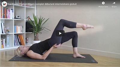 La pause Pilates_Cours complet en vidéo pour débutant et intermédiaire