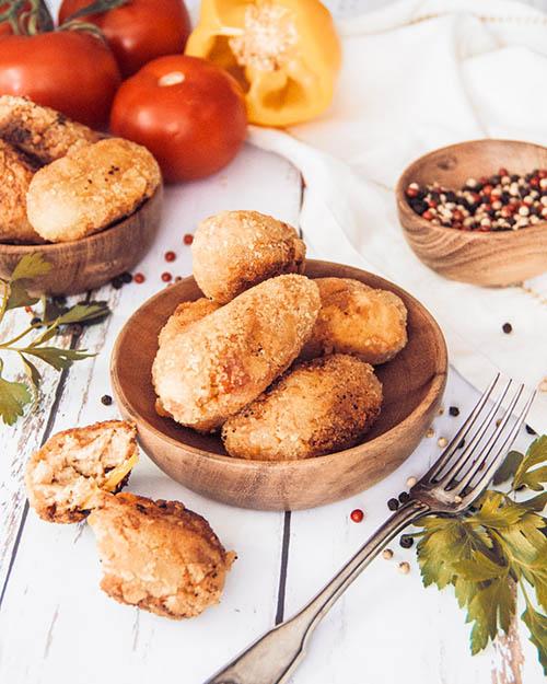croquetas espagnoles vegan