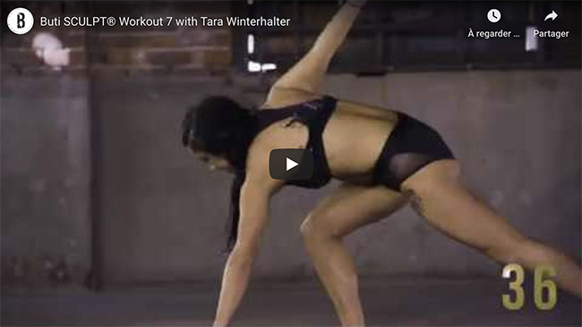 Buti Sculpt avec Tara Winterhalter
