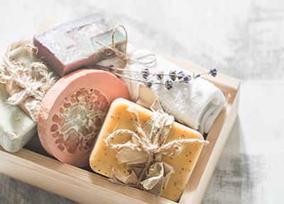 beauté au naturel, les savons saponifiés à froid
