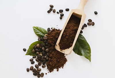 beauté zéro déchet, gommage au marc de café