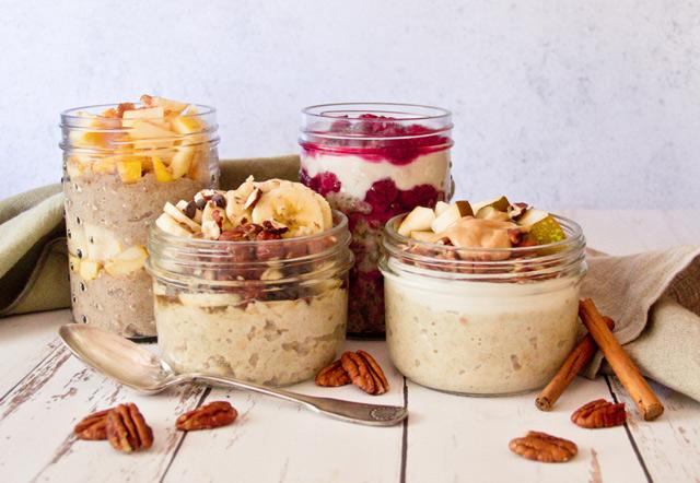 recettes d'overnight porridge faciles et saines