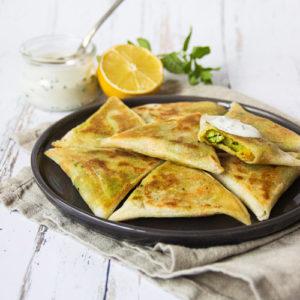 recette samoussa aux légumes végétalien