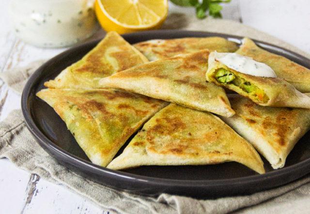 recette indienne samoussas aux légumes