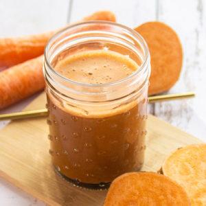 Jus de légumes détox radis noir patate douce carotte